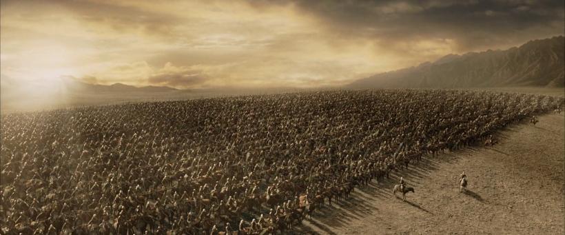 The_battle_of_the_Pelennor_Fields