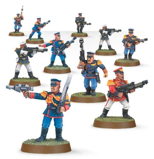 Mordian Iron Guard; For when you want to execute Commissars for cowardice!