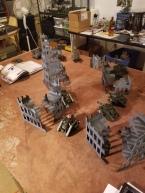 The Russ's advance under heavy fire.
