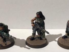 A rare, non-sexualised female Guardsmen