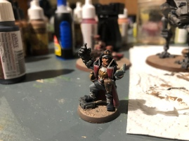 A basic paint job: I'd love to see a pro do this model!